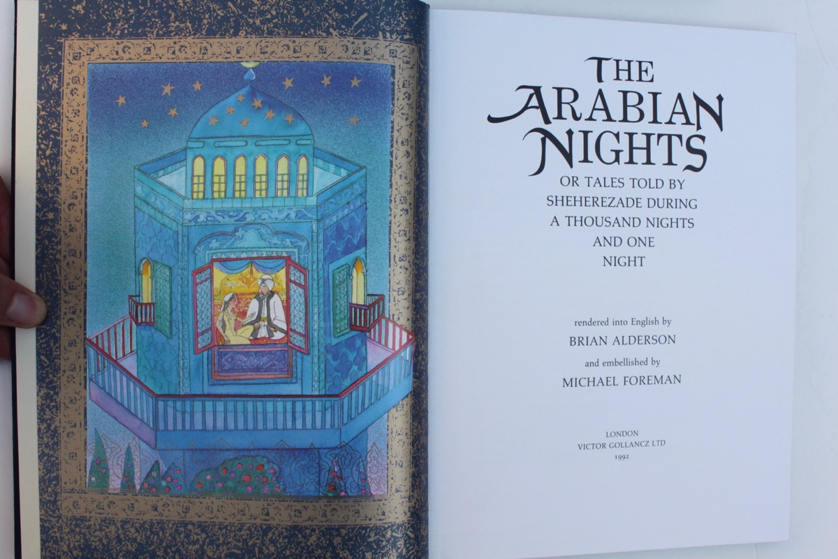 Image for The Arabian Nights or Tales Told by Sheherezade During a Thousand Nights and One Night, rendered into English by Brian Alderson.