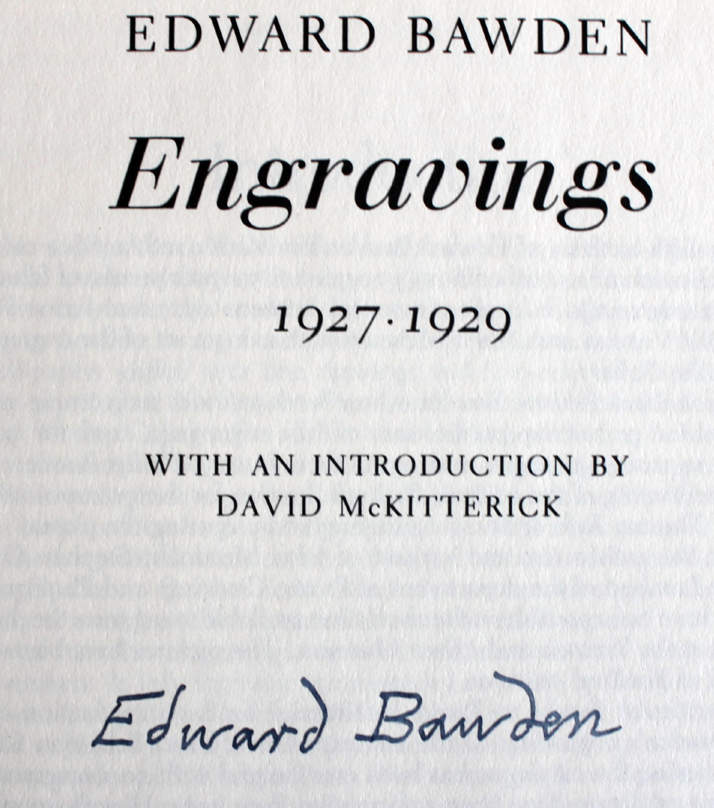 Image for Edward Bawden, A Retrospective Survey. With a preface by Halina Graham.