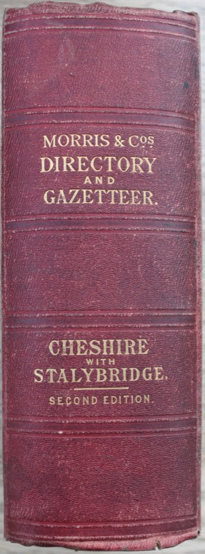 Image for Morris and Co's Commercial History and Gazetteer of Cheshire and Stalybridge.