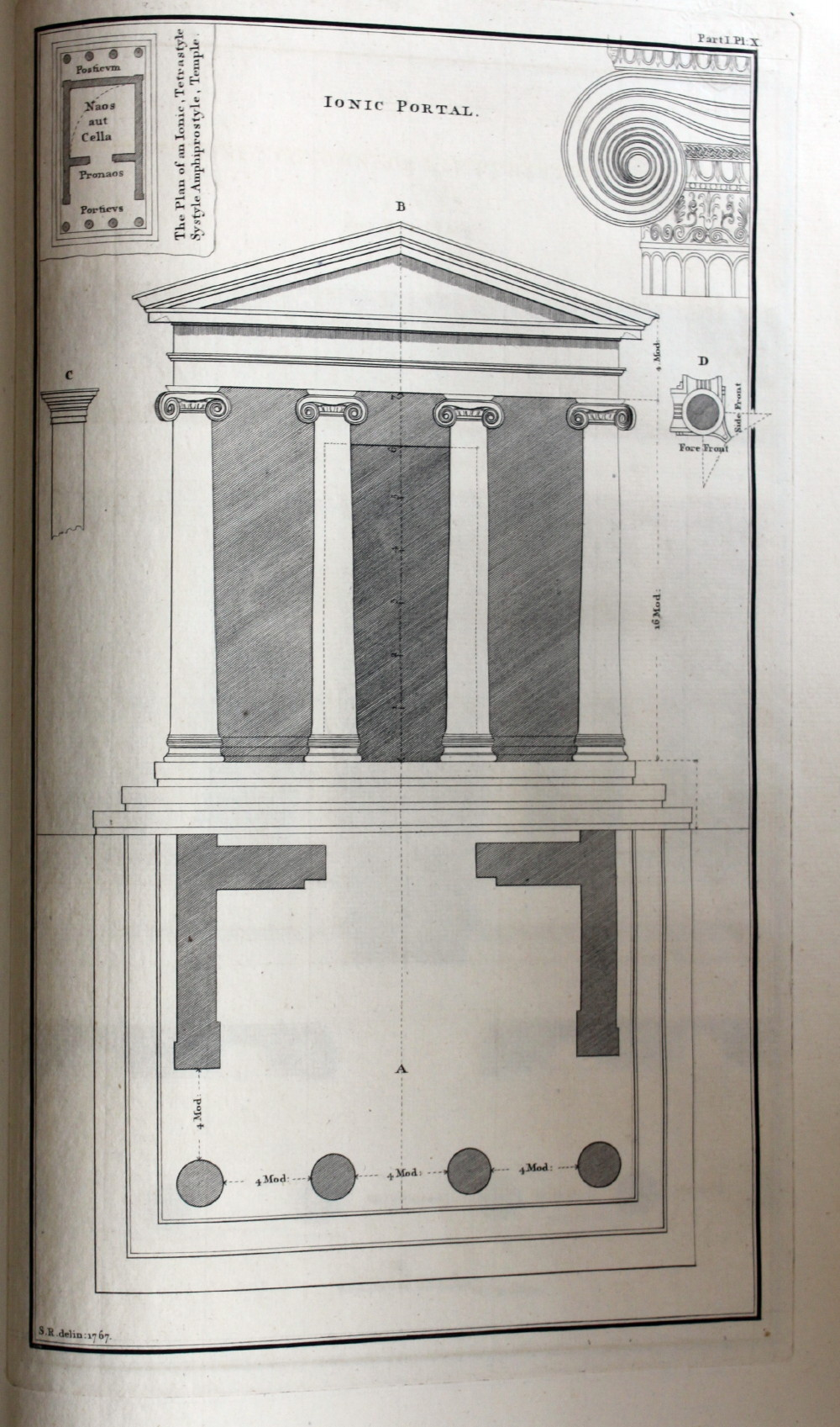 Image for The Grecian Orders of Architecture, Delineated and Explained from the Antiquities of Athens. Also the Parallels of the Orders of Palladio, Scamozzi and Vignola to Which are Added Remarks Concerning Publick and Private Edifices with Designs.
