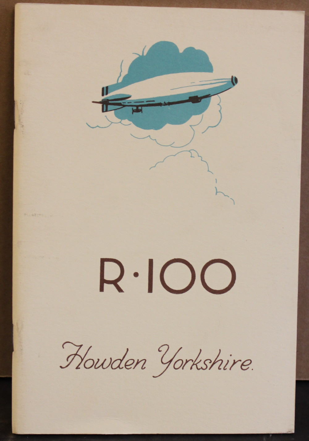 Image for Airship R100: Howden, Yorkshire.