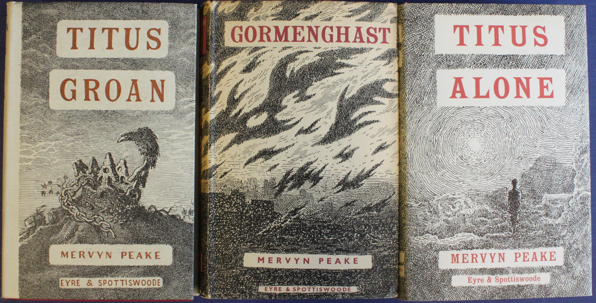 Image for Titus Groan; Gormenghast; Titus Alone.