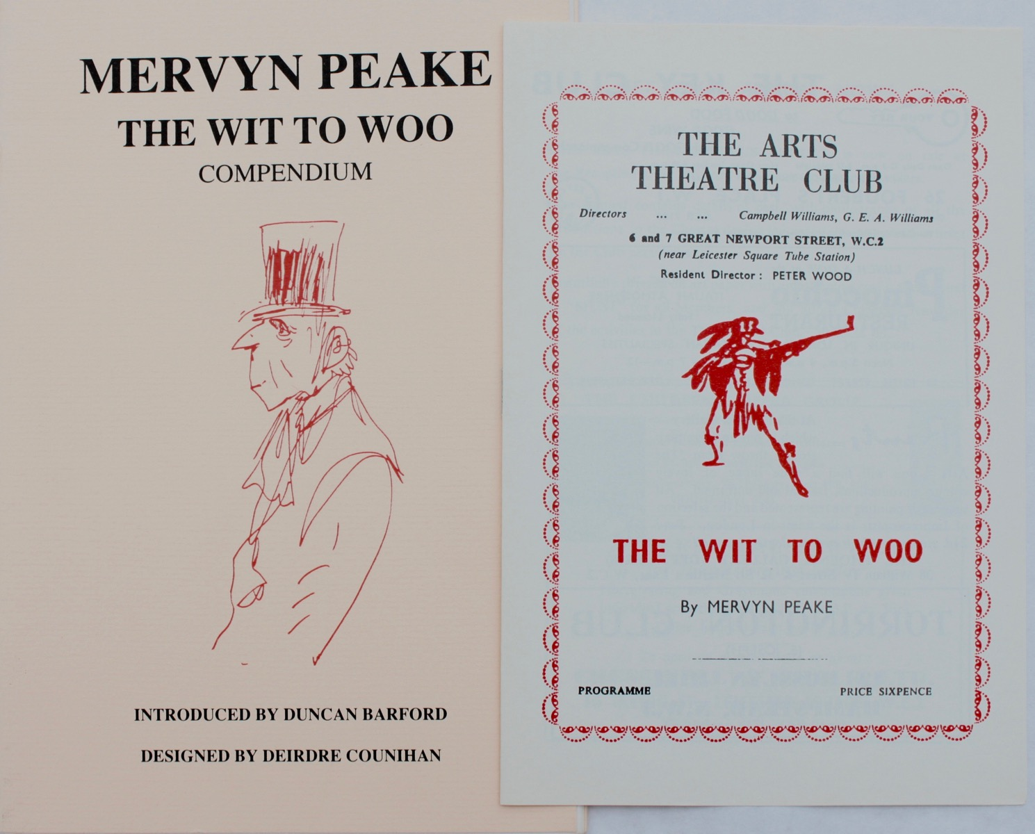 Image for Number 25. The Wit to Woo Compendium. Introduction by Duncan Bardorf; designed by Deidre Counihan