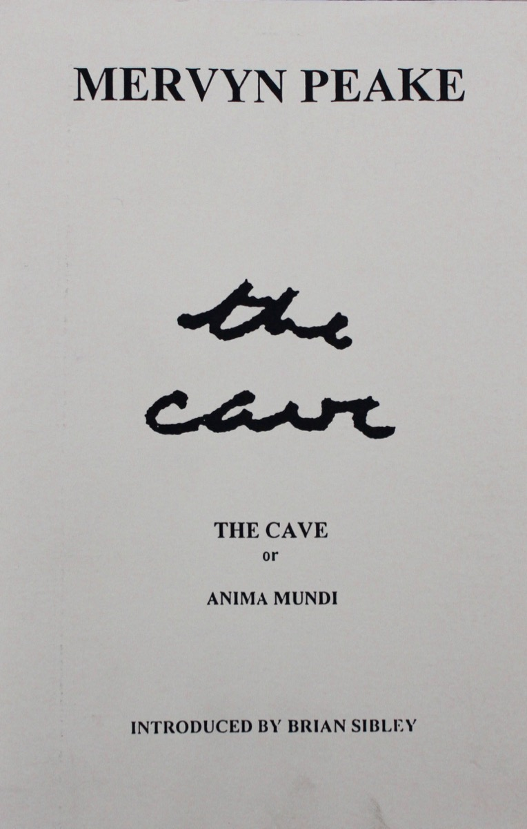 Image for Number 29. The Cave, or Anima Mundi, by Mervyn Peake with an introduction by Brian Sibley.