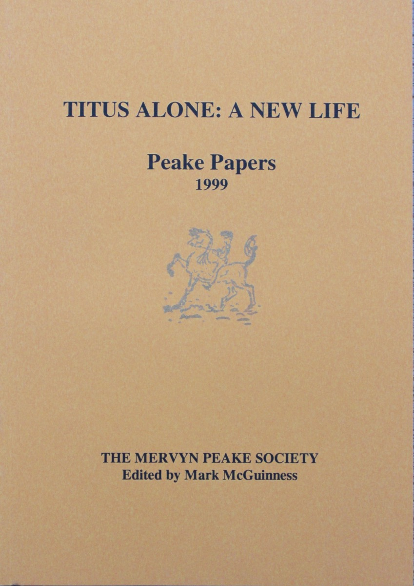 Image for Number 31. Titus Alone: A New Life. Peake Papers.