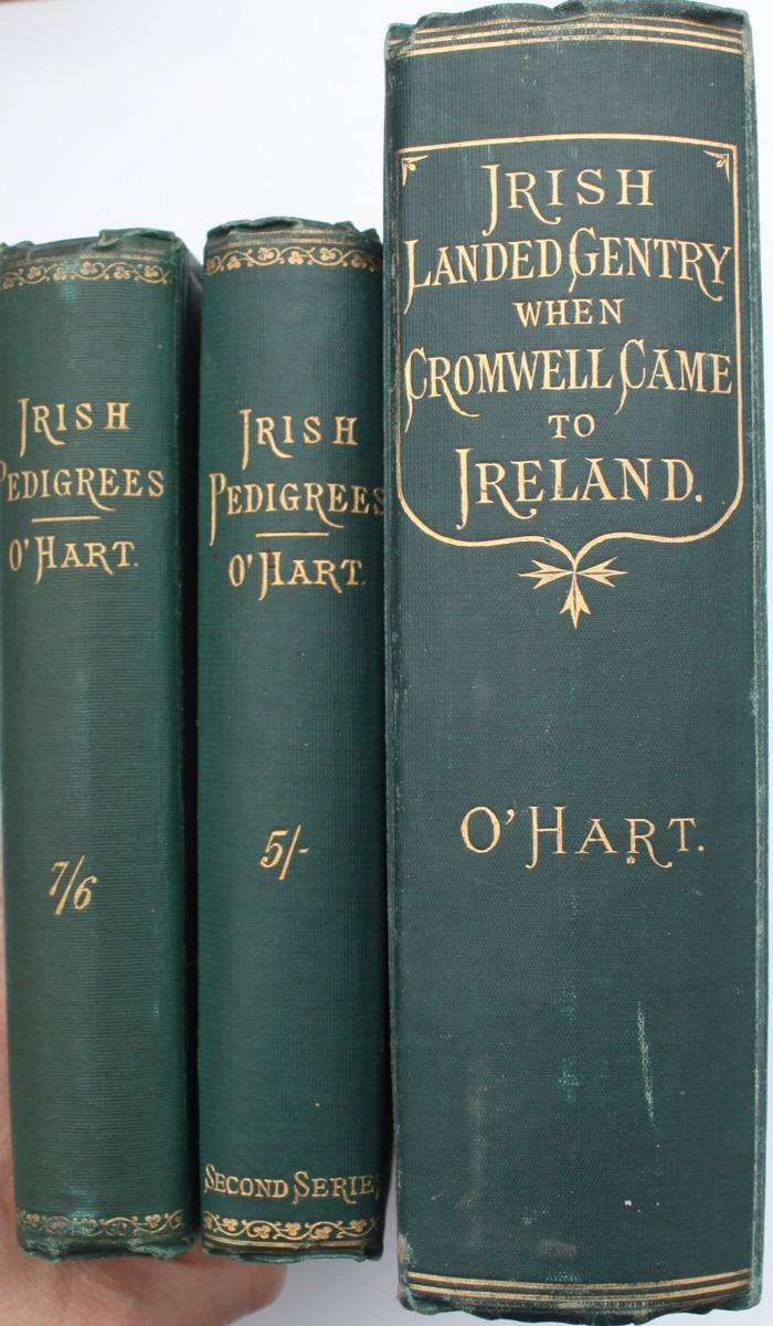 Image for Irish Pedigrees; or, the Origin and Stem of the Irish Nation. [with] Irish Pedigrees; or, the Origin and Stem of the Irish Nation. (second series) [with] The Irish and Anglo-Irish Landed Gentry When Cromwell Came to Ireland; or, a Supplement to Irish Pedigrees.