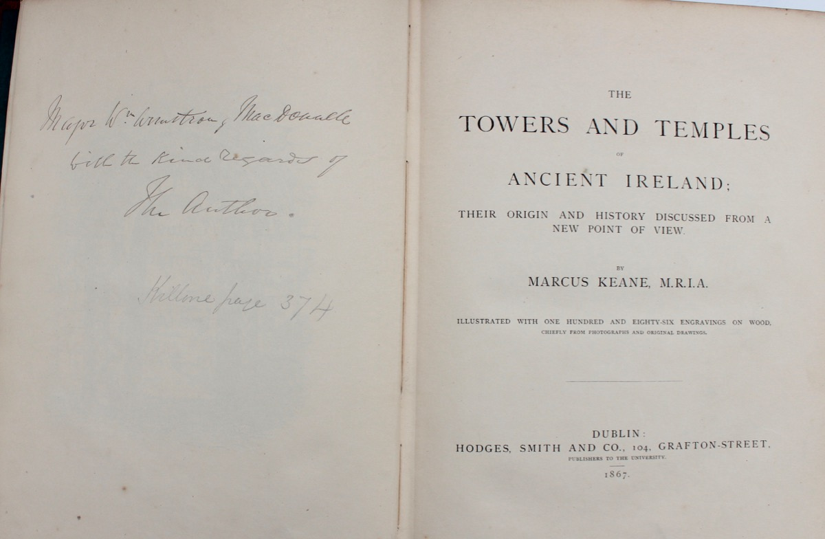Image for The Towers and Temples of Ancient Ireland; their origin and history discussed from a new point of view.