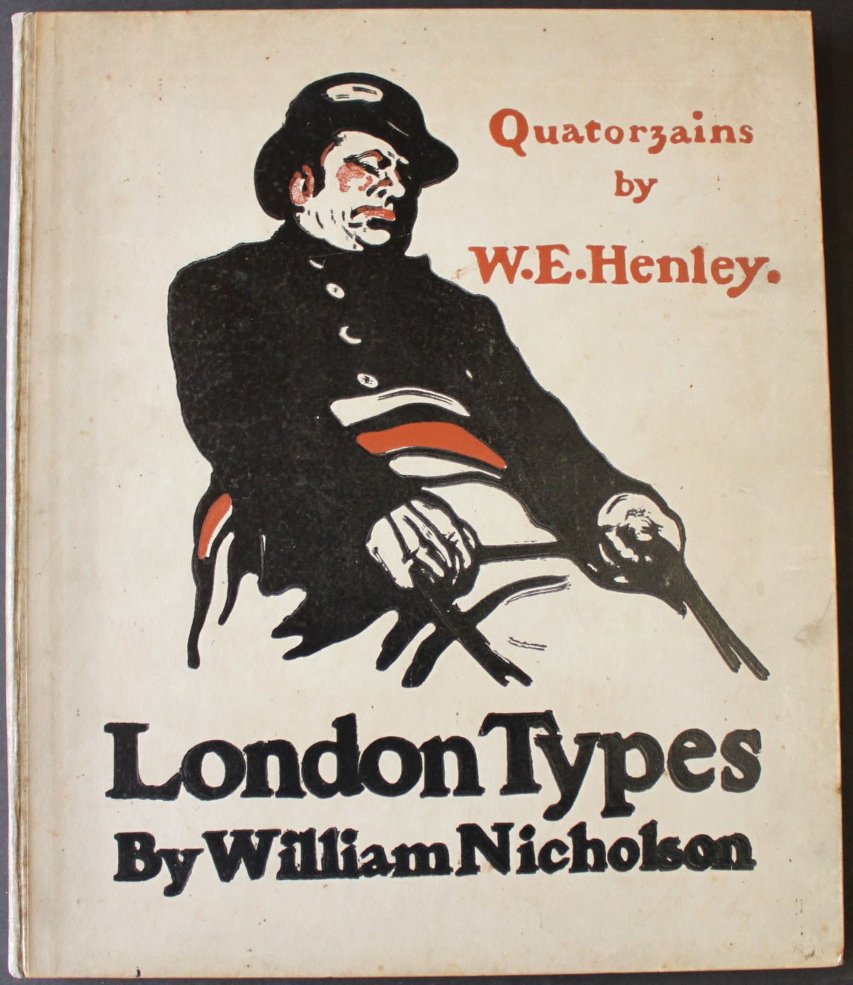 Image for London Types; with Quatorzains by W.E. Henley.