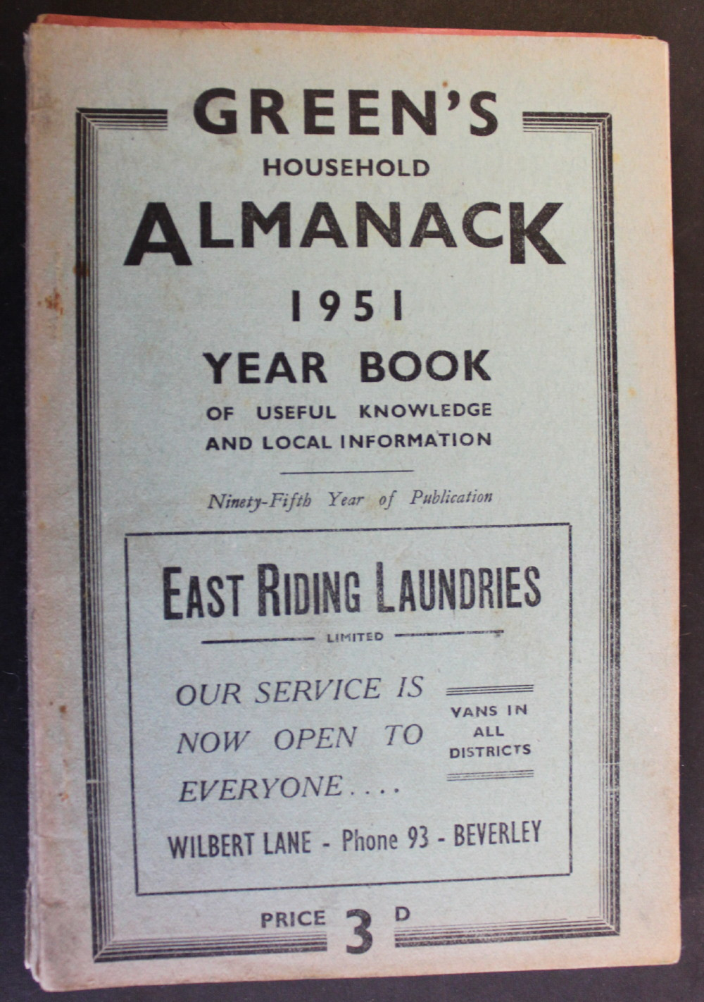 Image for Green's Household Almanack & Diary for 1951.