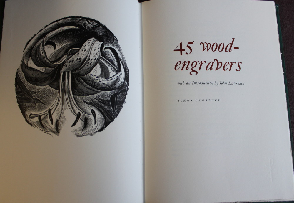 Image for 45 Wood-Engravers; with an introduction by John Lawrence.