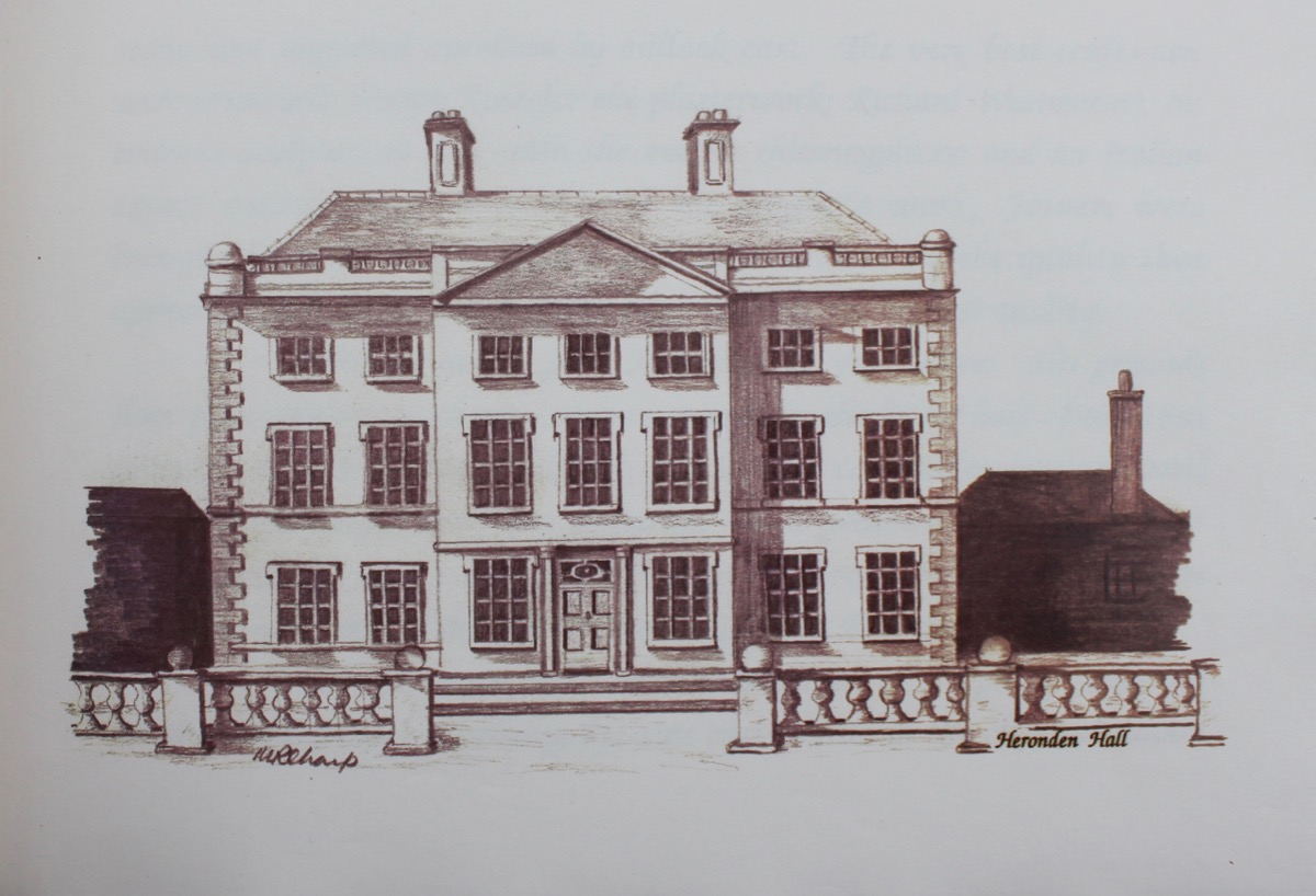 Image for Extracts From the Study of Heronden Hall & Estate; an Illustrated Study Commissioned by the Rt Hon the Viscount of Hoddington. Illustrated by Margery Sharp.