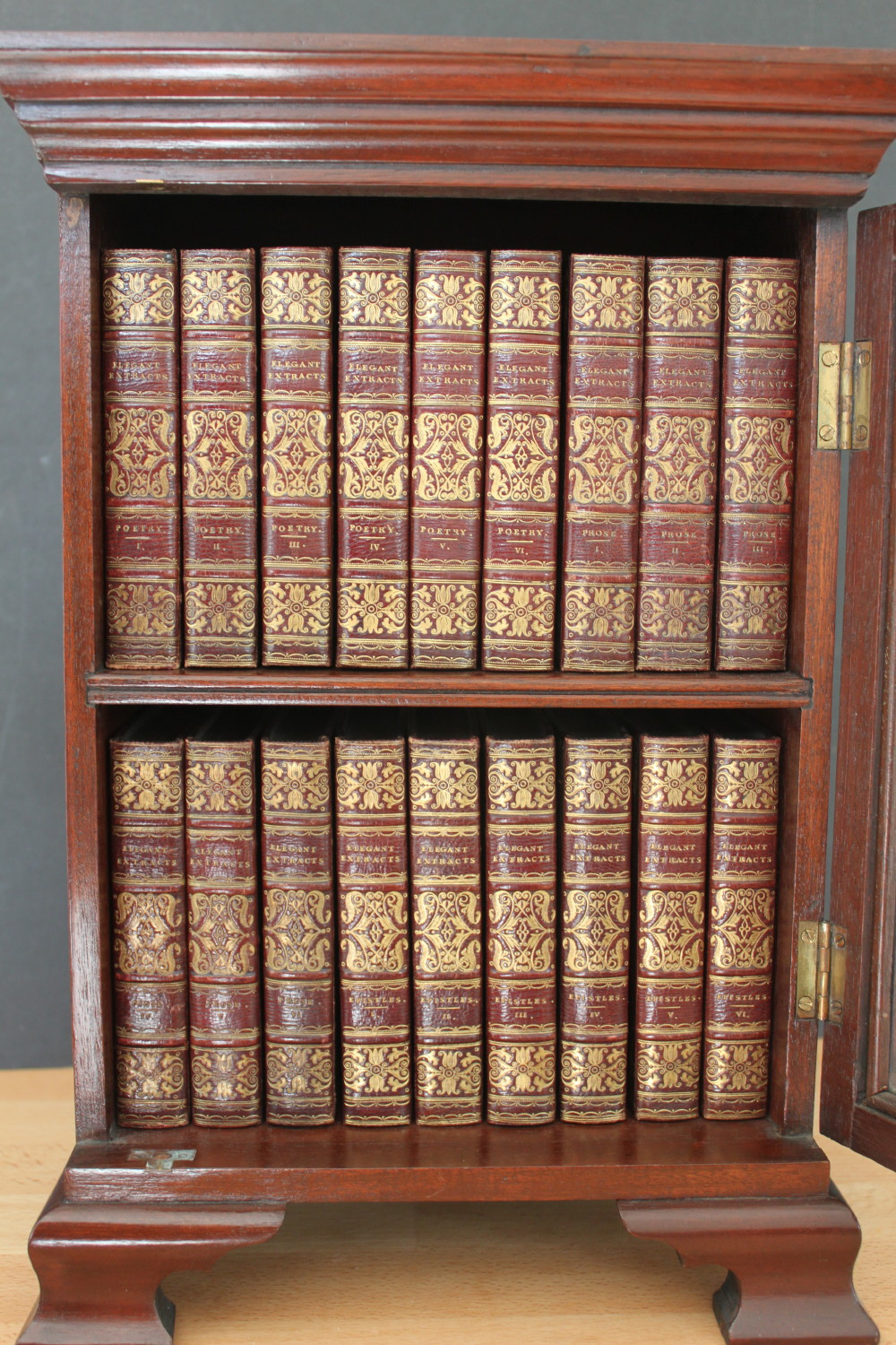 Image for Elegant Extracts. Poetry, 6 volumes; Prose, 6 volumes; Epistles, 6 volumes. Complete set of 18 volumes. [or 36 volumes in 18].