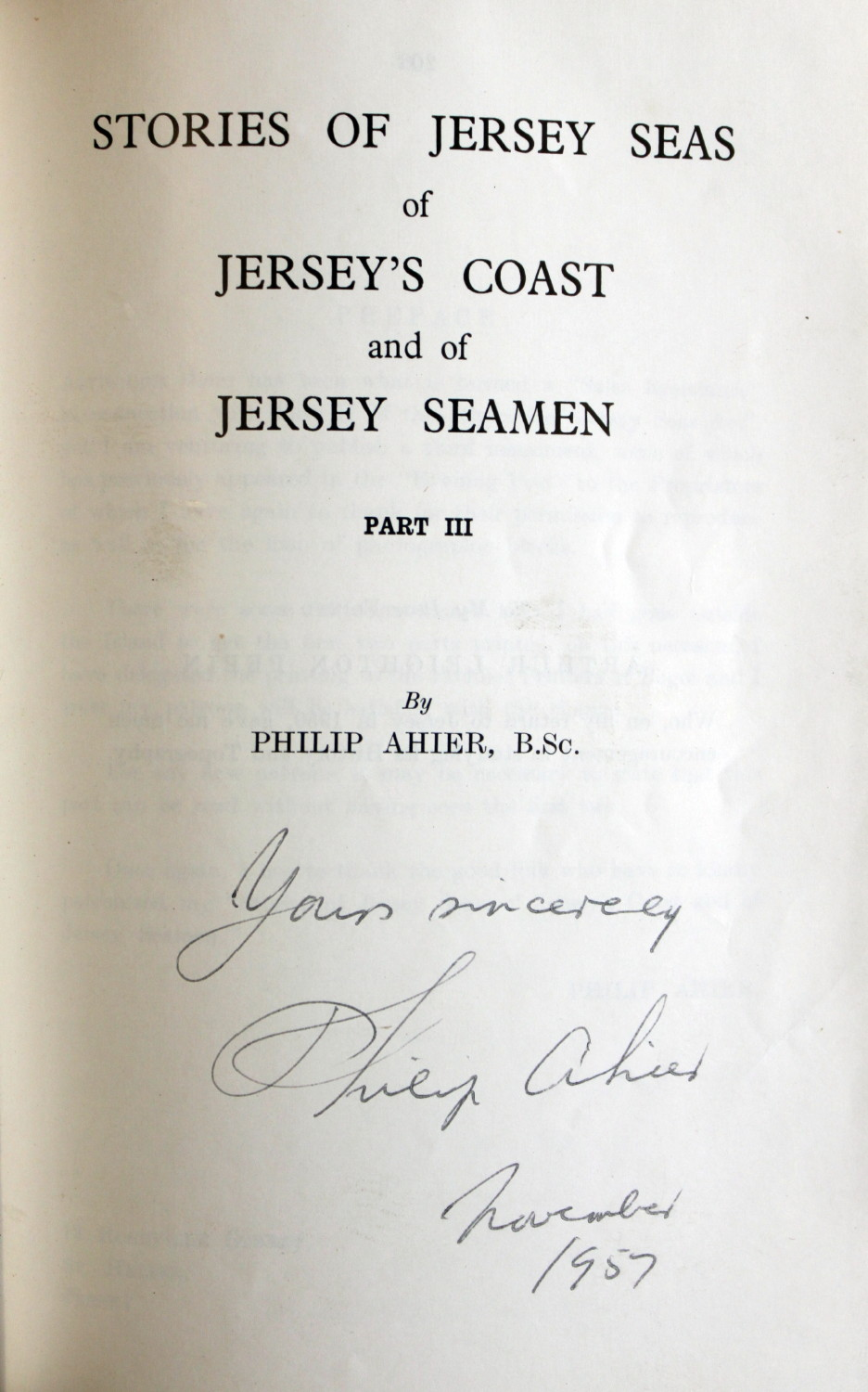 Image for Stories of Jersey Seas of Jersey's Coast and of Jersey Fishermen. [Part I] with Part II and Part III [complete]