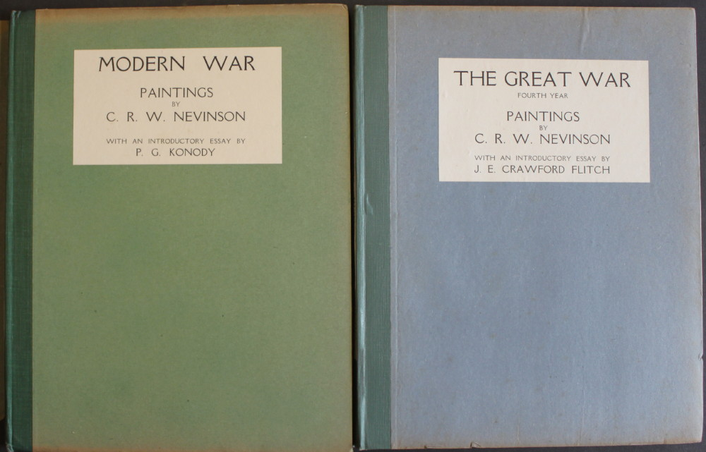 Image for Modern War Paintings, with an essay by P.G. Konody. [together with] The Great War, Fourth Year, with an introductory essay by J.E. Crawford Flitch.