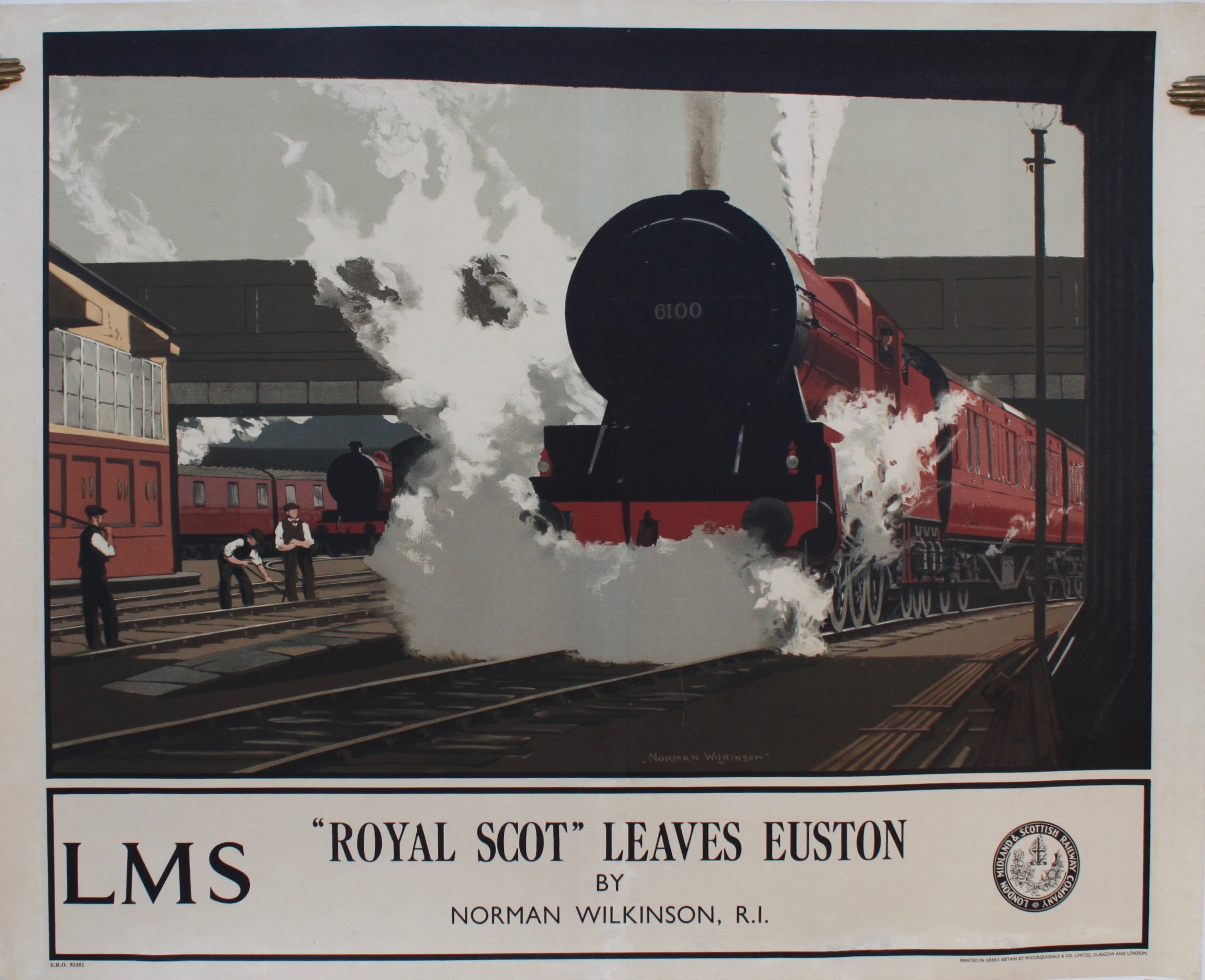 "Image for ""Royal Scott"" Leaves Euston."