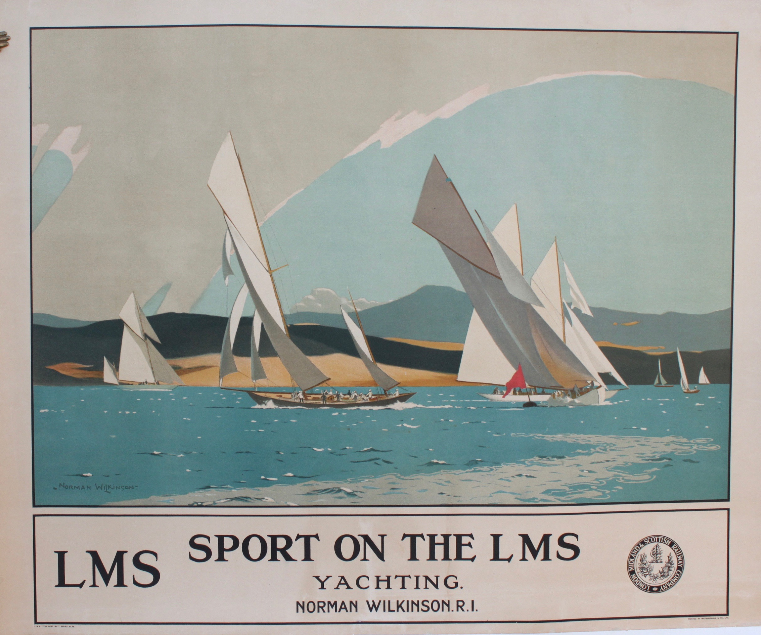 Image for Sport on the LMS. Yachting.