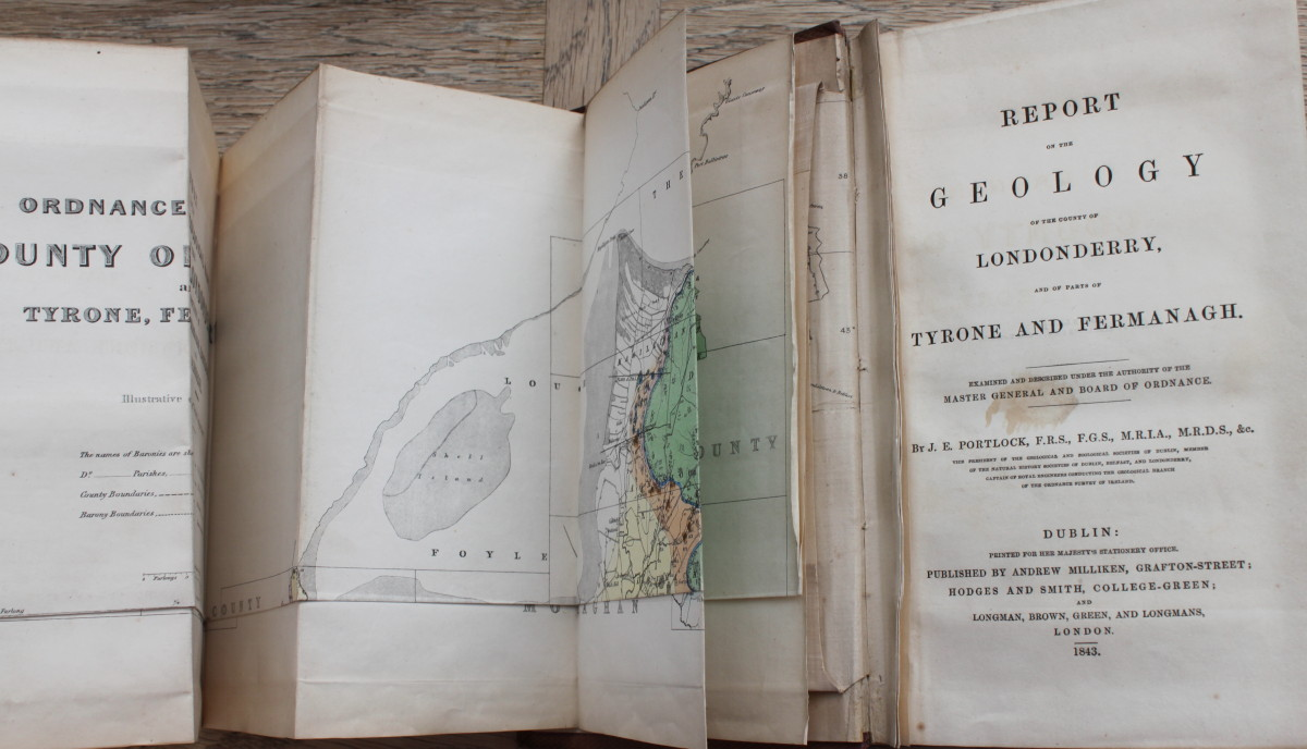 Image for Report on the Geology of the County of Londonderry, and of Parts of Fermanagh, Examined and Described Under the Authority of the Major General and Board of Ordnance.