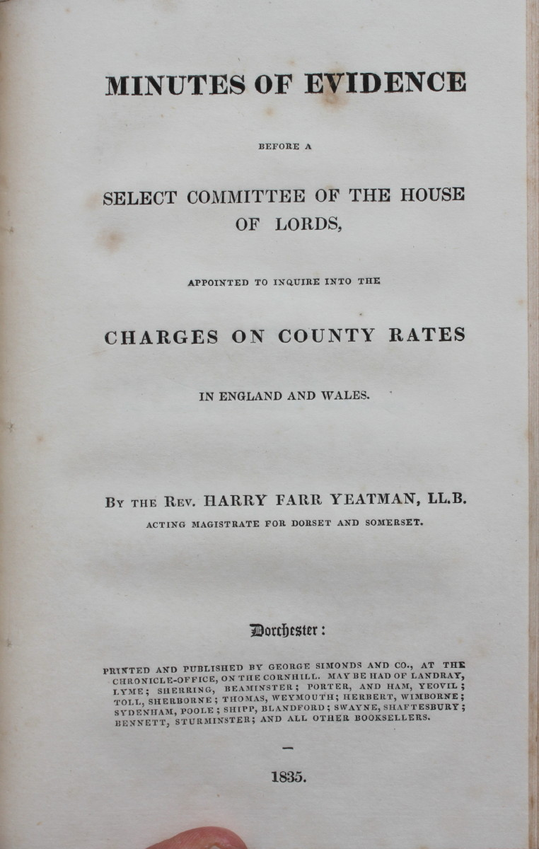 Image for An Inquiry Into the Present State of the Existing County rate, Addressed to Owners and Occupiers of Lands Within the County of Dorset.