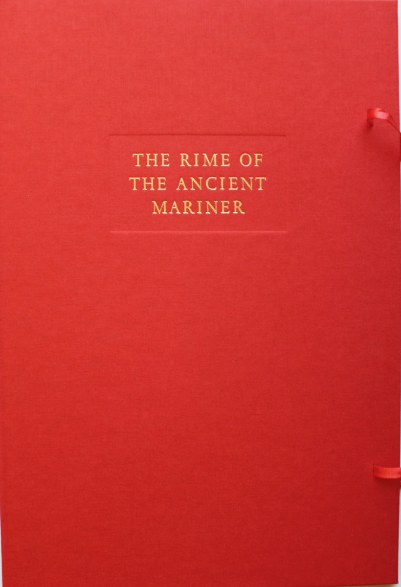 Image for The Rime of the Ancient Mariner, by Samuel Taylor Coleridge. Portfolio of Prints.
