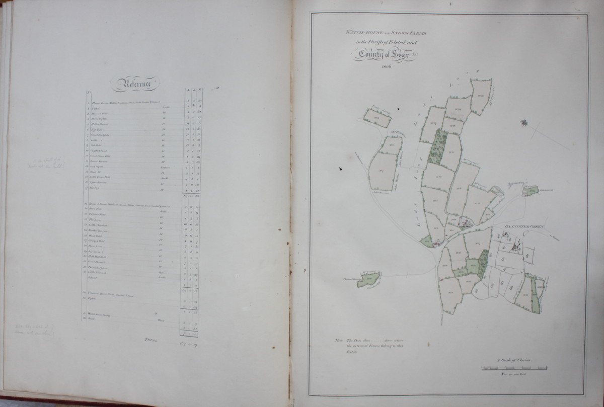 Image for Plan of Estates; the Property of Thomas Chinnall Porter Esq.