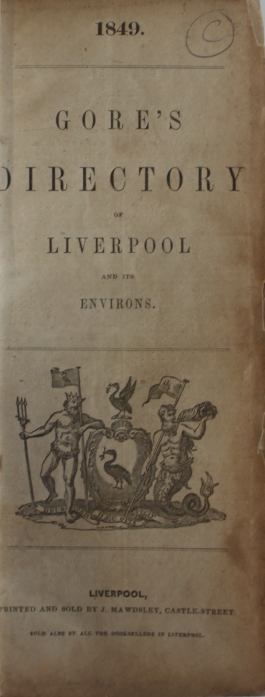 Image for Gore's Directory of Liverpool and Its Environs.