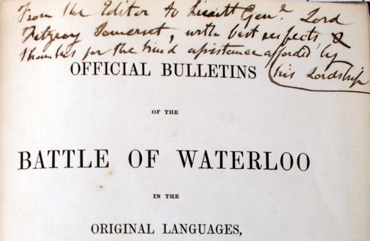 Image for Official Bulletins of the Battle of Waterloo in the Original Languages With Translations Into English.