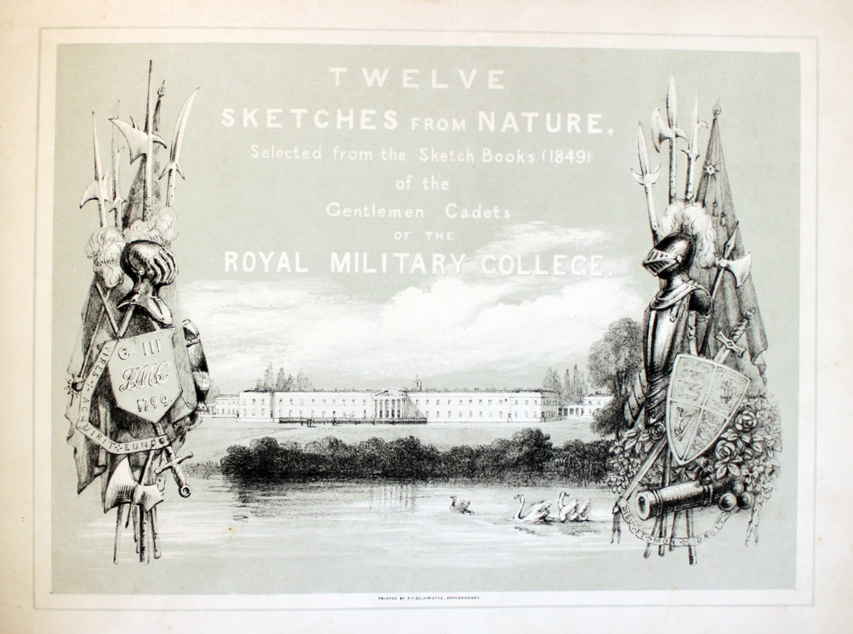 Image for Twelve Sketches From Nature, Selected From the Sketch Books (1849) of the Gentlemen Cadets of the Royal Military College.