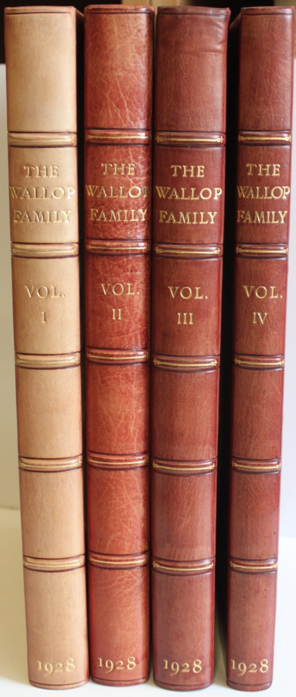 Image for The Wallop Family and Their Ancestry.