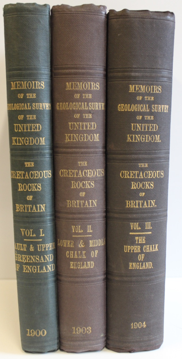 Image for The Cretaceous Rocks of Britain. Volume I - III. I. The Gault and Upper Greensand of England. II. The Lower and Middle Chalk of England. III. The Upper Chalk of England.
