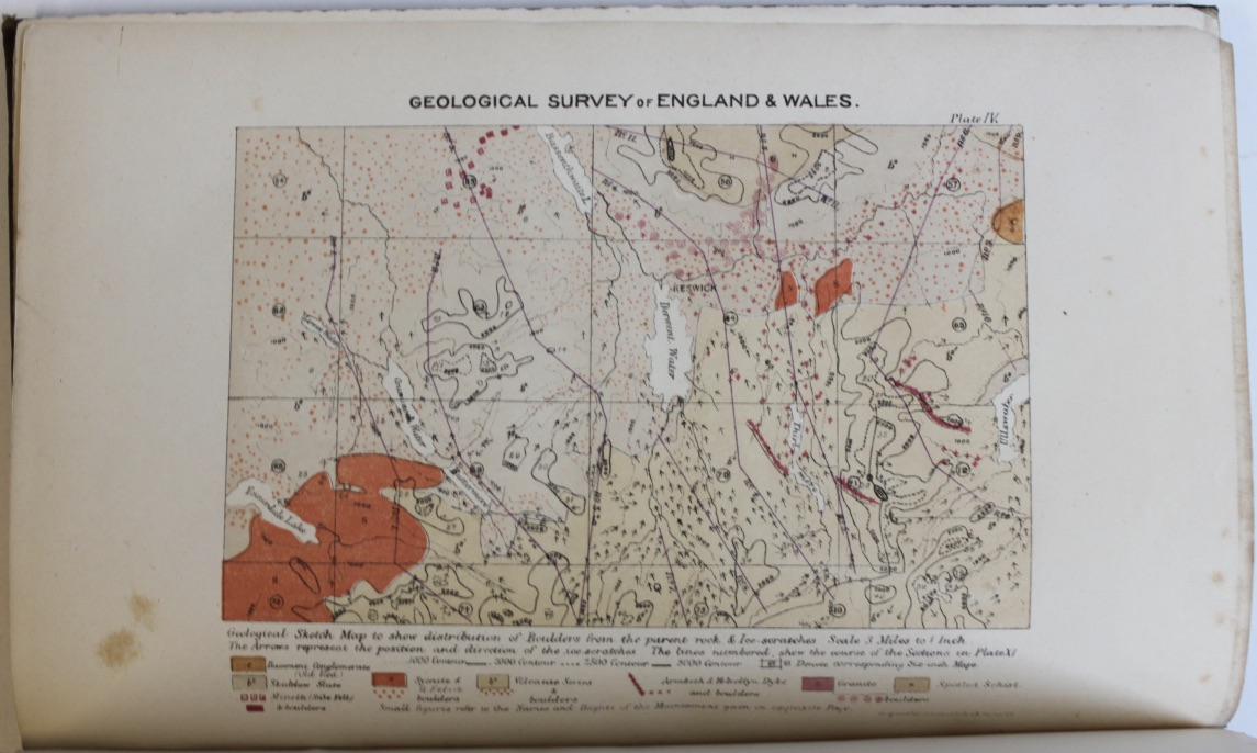 Image for The Geology of the Northern Part of the English Lake District.