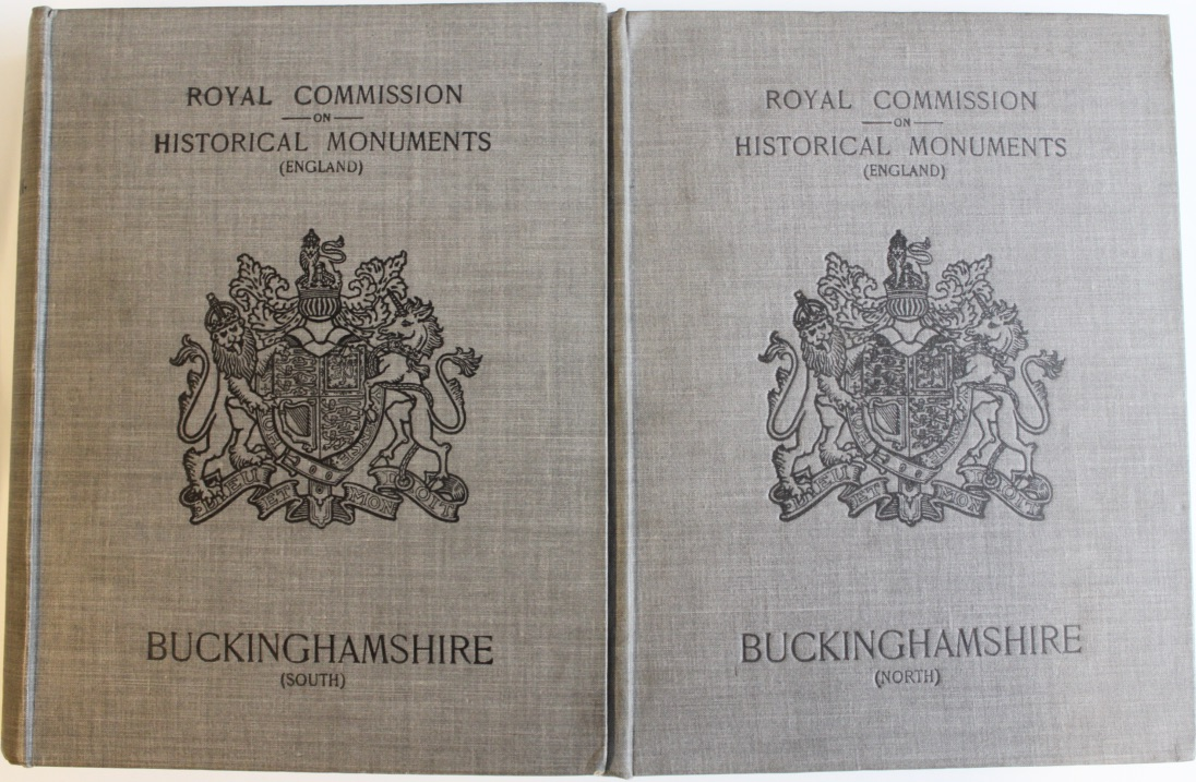 Image for An Inventory of the Historical Monuments in Buckinghamshire. Volume One (South) and Two (North). [complete]