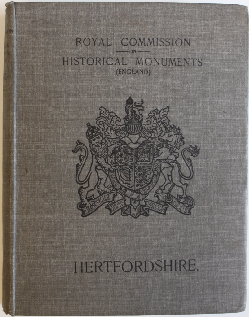 Image for An Inventory of the Historical Monuments in Hertfordshire.
