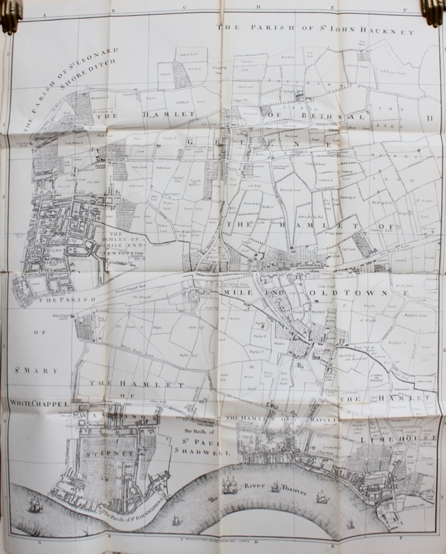 Image for Memorials of Stepney Parish; that is to say the Vestry Minutes from 1579 to 1662...to which is added a Reprint of Gascoyne's Map of the Parish, 1703, with introduction and index.