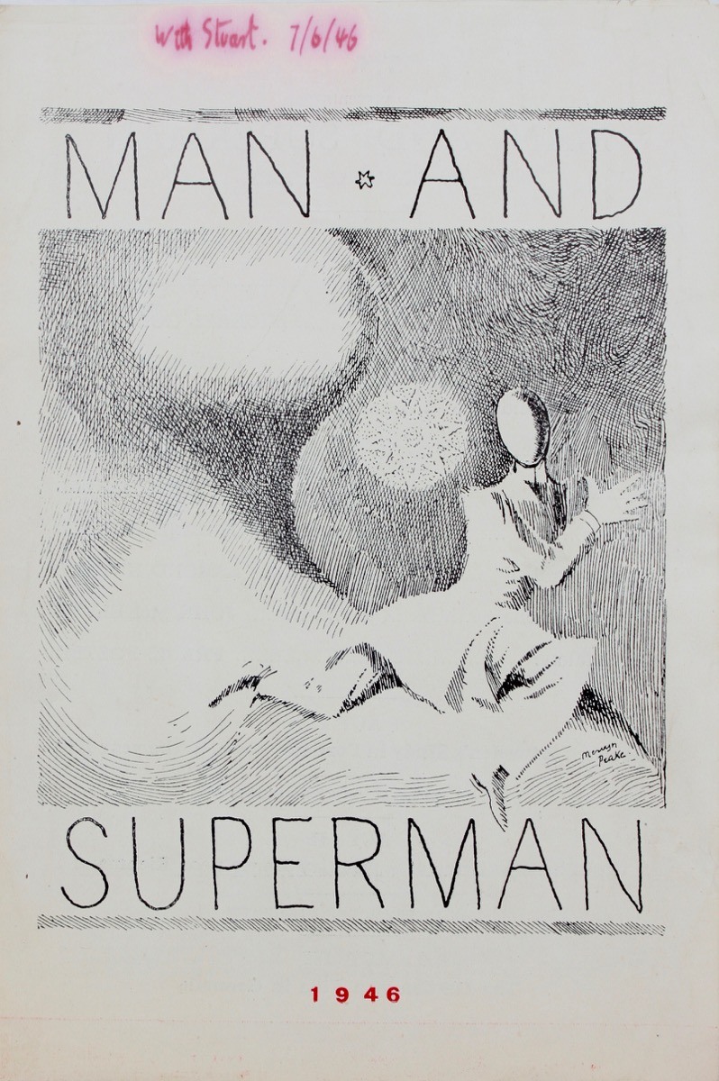 Image for Theatre Programme. Man and Superman, by Bernard Shaw.