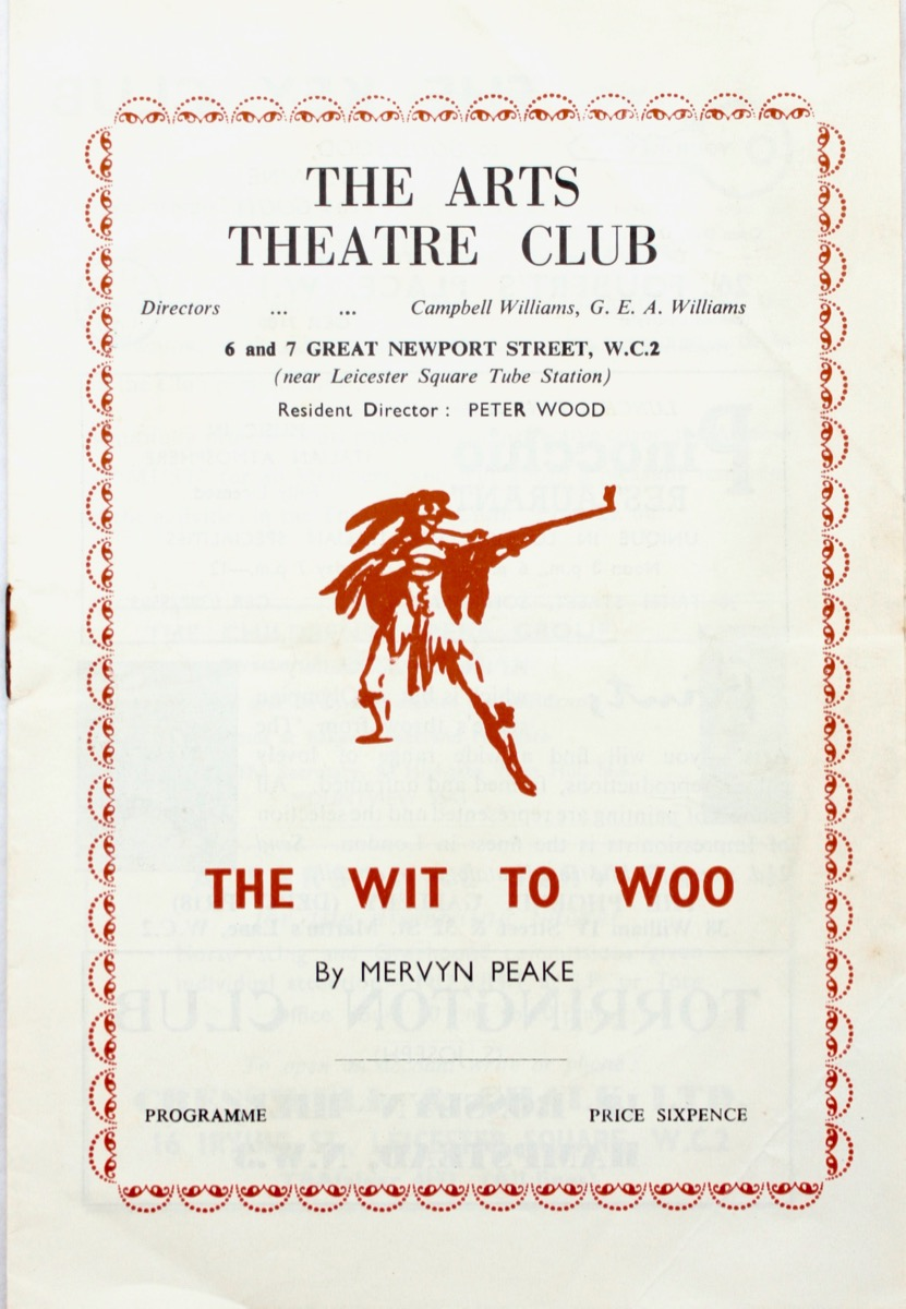 Image for The Wit to Woo by Mervyn Peake.