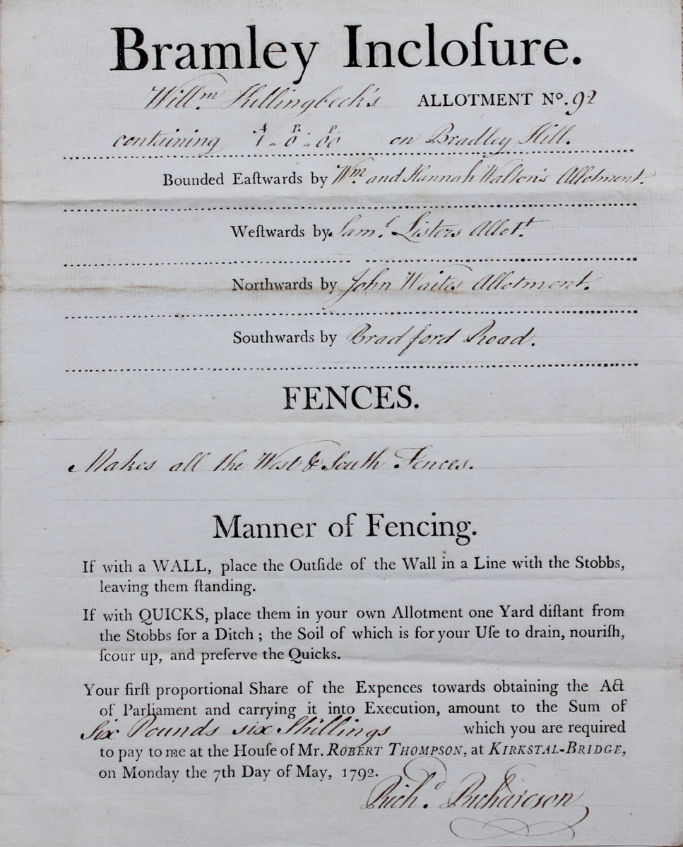 Image for Allotment Certificate No.83.