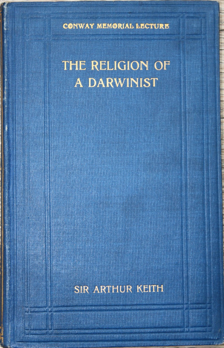 Image for The Religion of a Darwinist. [Conway Memorial Lecture]