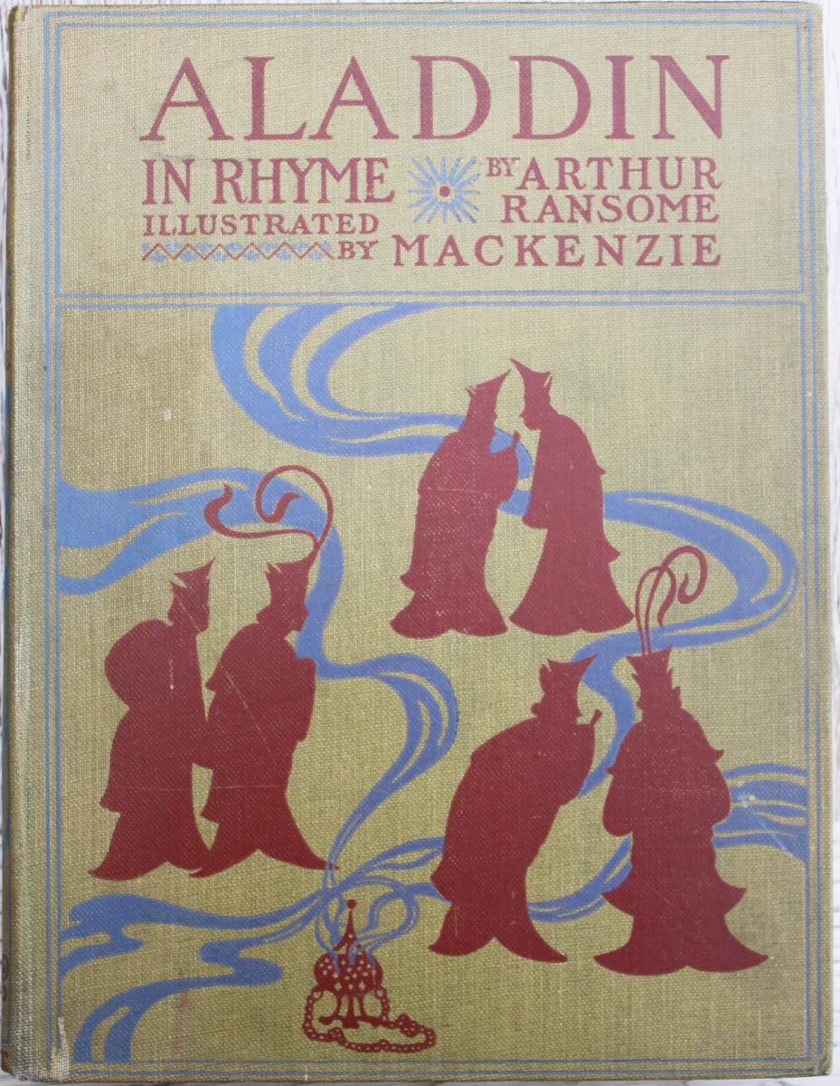 Image for Aladdin and His Wonderful Lamp in Rhyme; illustrated by Mackenzie.