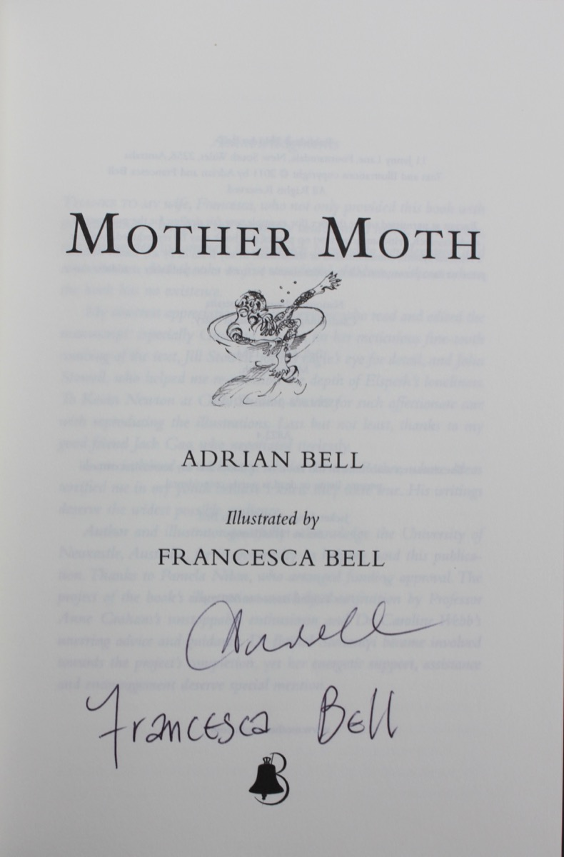 Image for Mother Moth; illustrated by Francesca Bell.