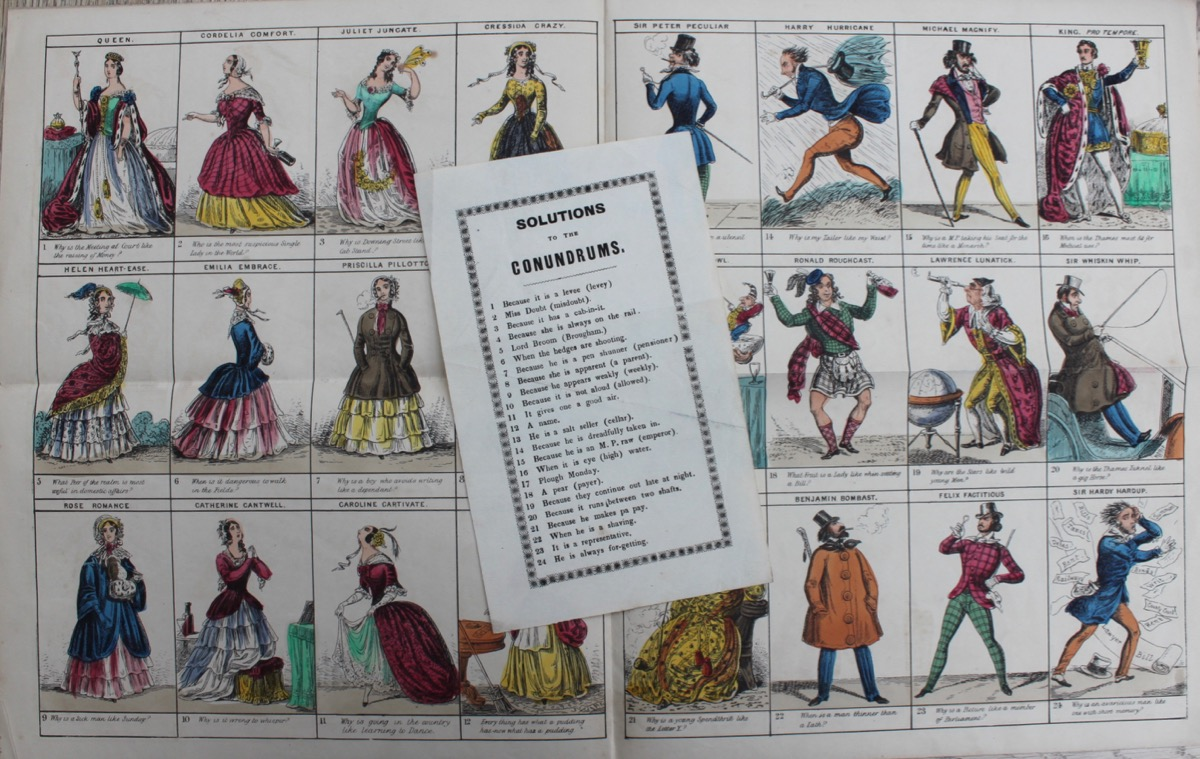Image for Fairburn's Twelfth Night Characters. [a conundrum game]