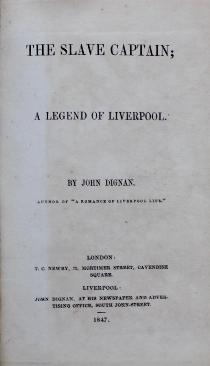 Image for The Slave Captain; a Legend of Liverpool.