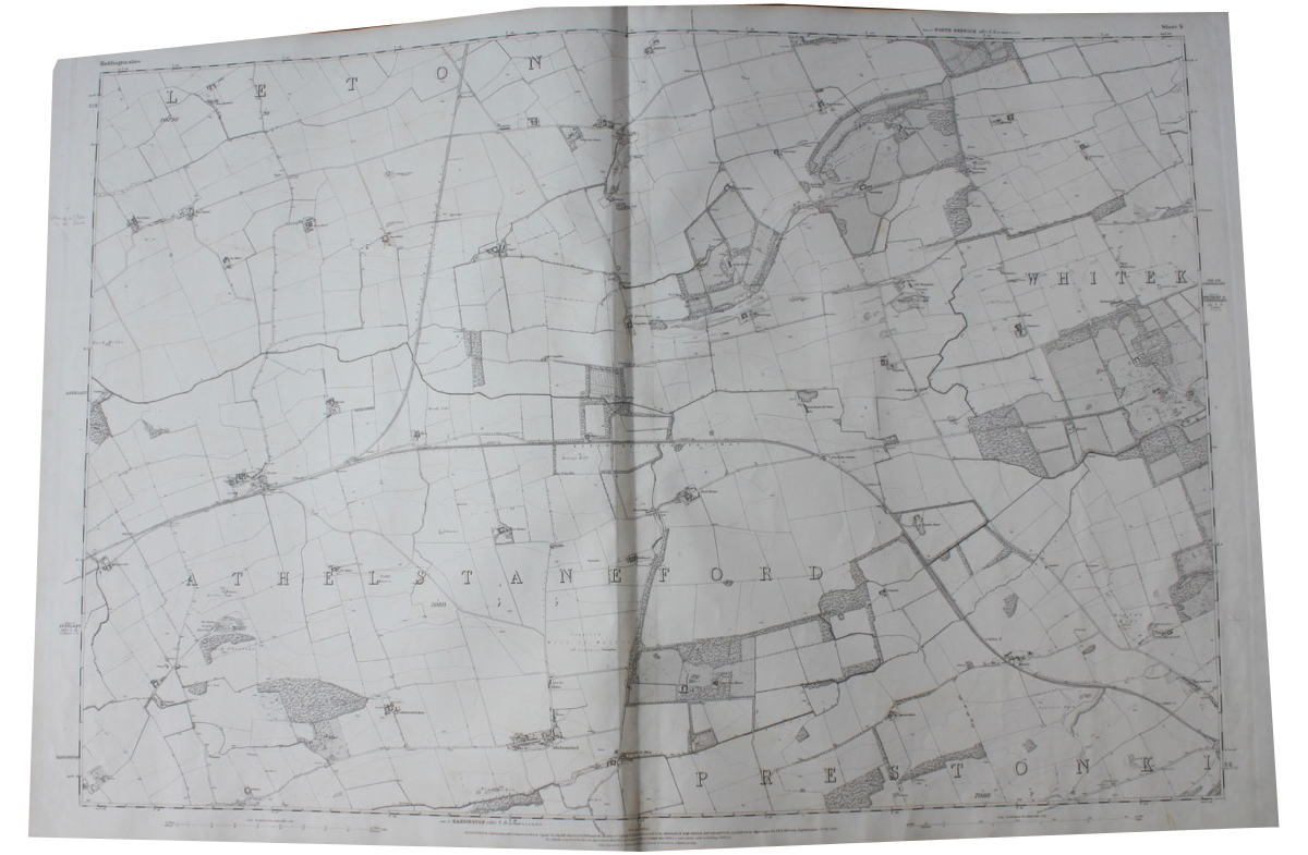 Image for Ordnance Survey of Haddingtonshire.