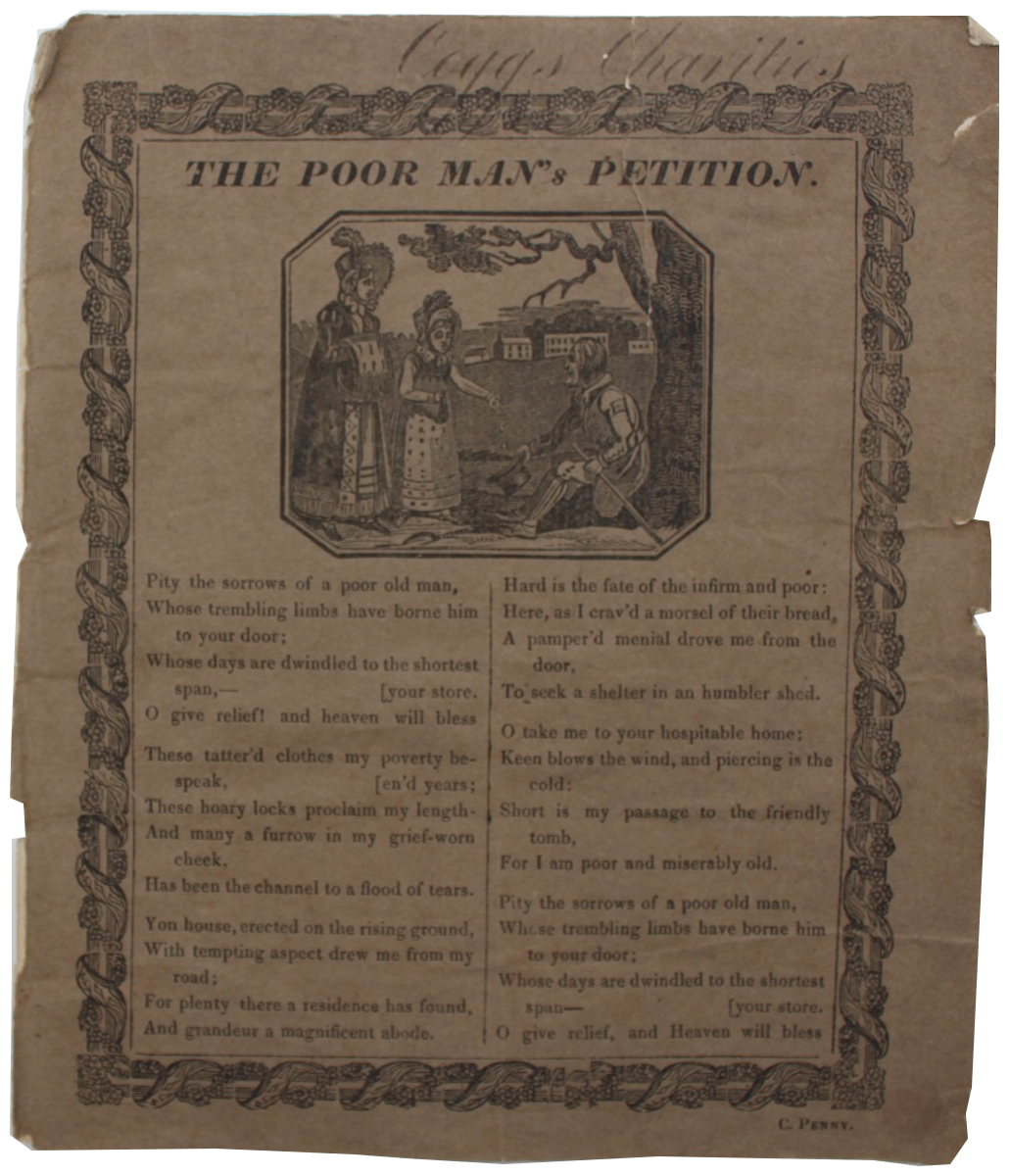 Image for The Poor Man's Petition. [a poem]