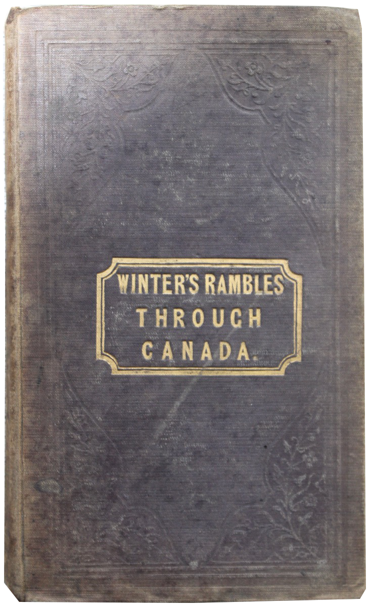 Image for It Blows, It Snows; a Winter's Rambles Through Canada.