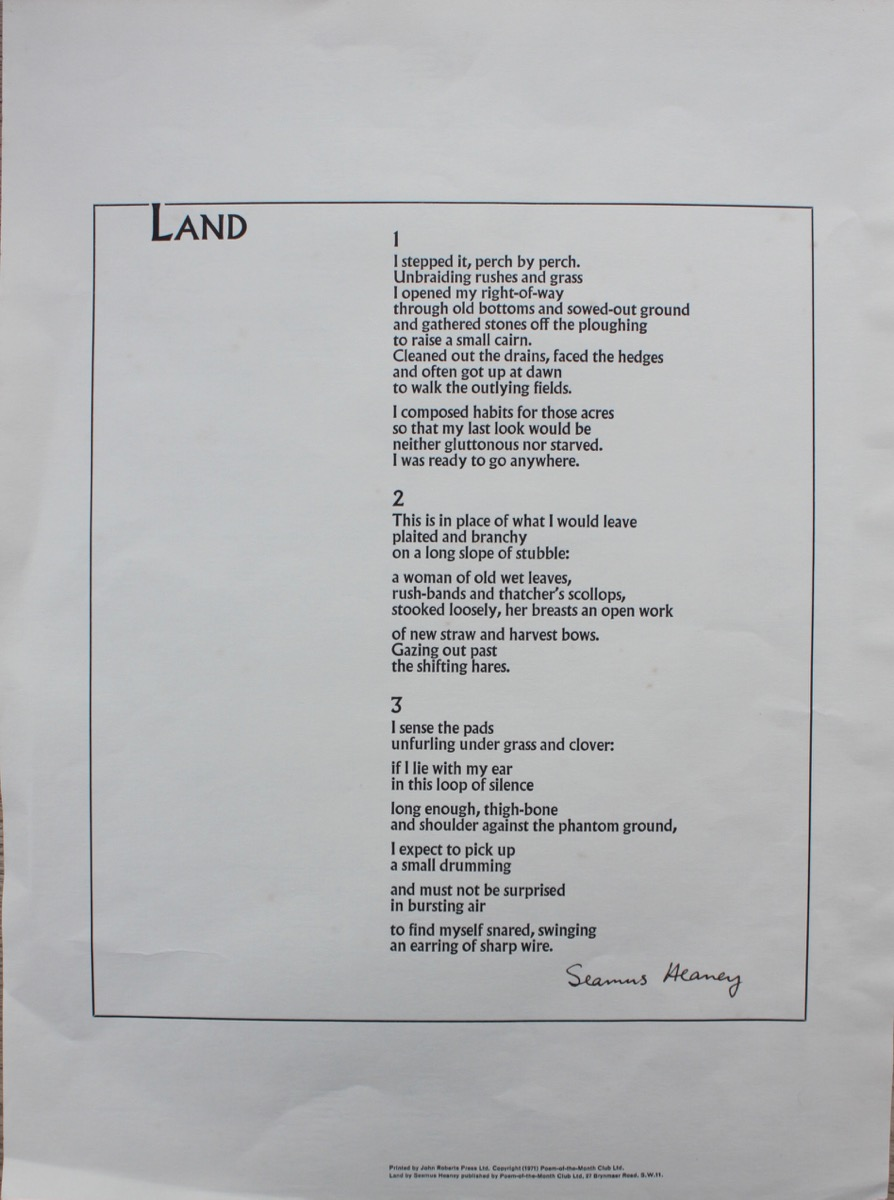 Image for Land.