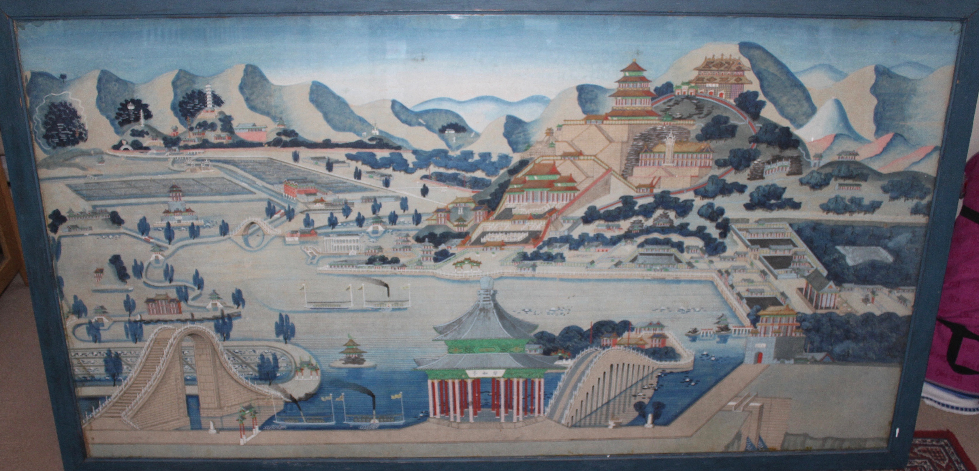 Image for Watercolour of the Summer Palace, Beijing.