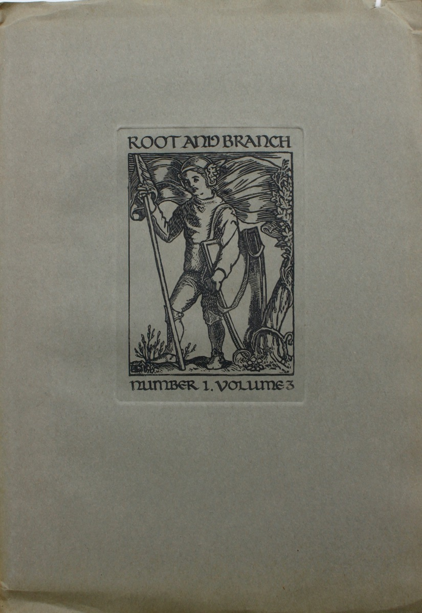 Image for Root and Branch; a Seasonal of the Arts. Number 1, Volume 3.