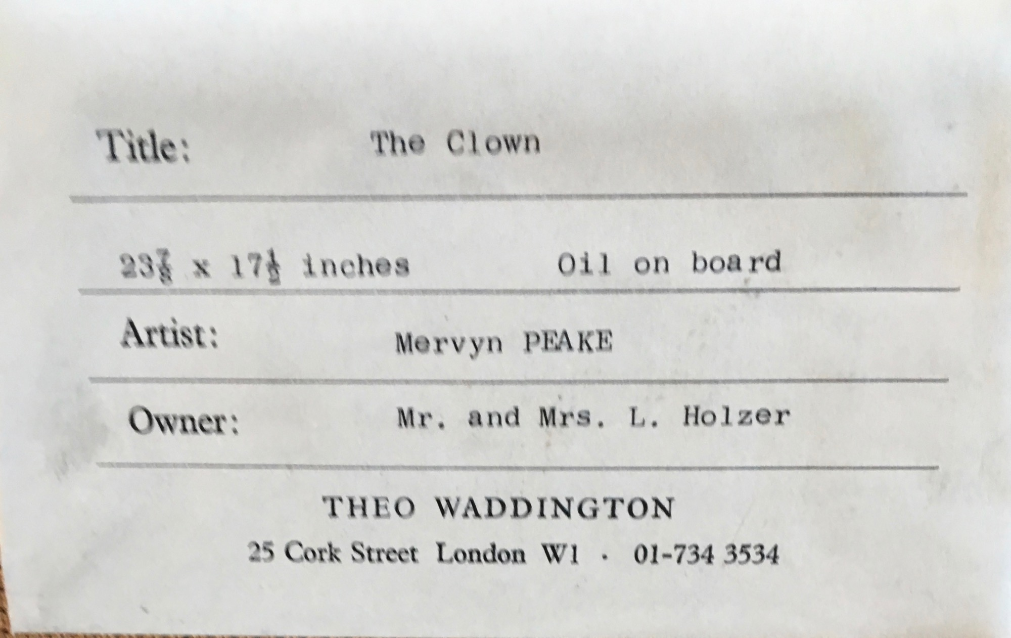 Image for Clown.