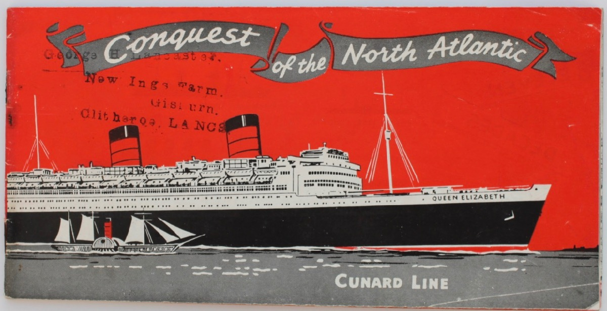 Image for Conquest of the North Atlantic; over a century in the service of the transatlantic traveller.