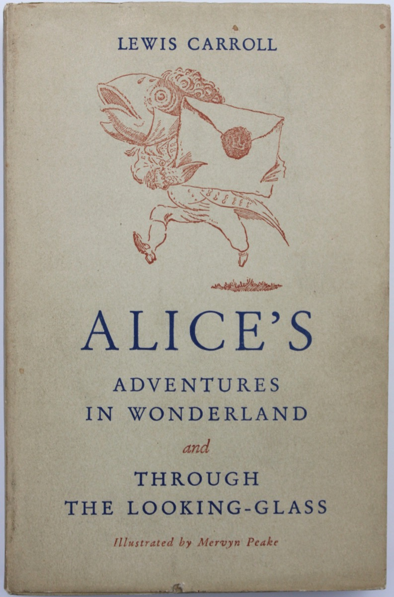 Image for Alice's Adventures in Wonderland and Through the Looking-Glass, by Lewis Carroll.